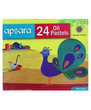 Apsara - Oil Pastels