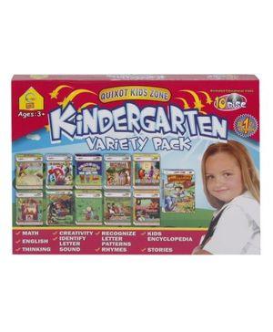 Quixot Kids Zone Kindergarten Variety Pack