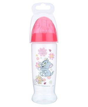 Tom and Jerry Feeding Bottle Pink 250 ml
