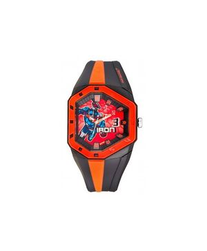 Zoop - Pentagon Analog Watch Red