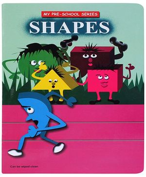 Apple Books My Pre School Series Shapes Book - English