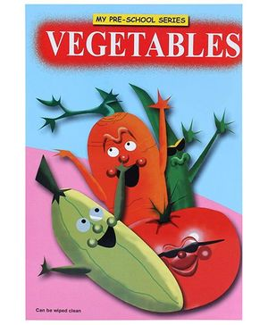 Apple Books My Pre School Series Vegetables Book - English