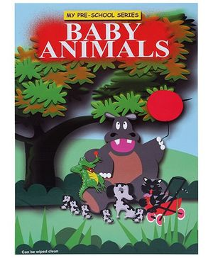 Apple Books My Pre School Series Baby Animals Book - English