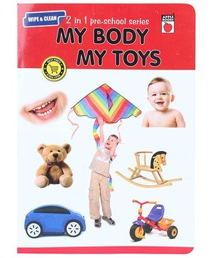 Apple Books 2 In 1 PreSchool Series My Body and Toys - English