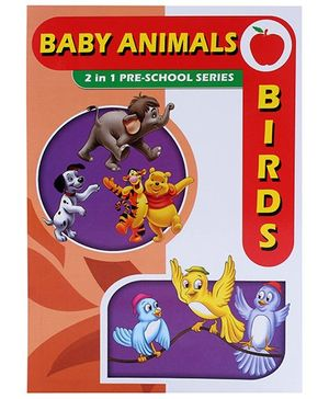 Apple Books 2 In 1 Pre School Series Birds And Baby Animals - English