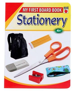 Apple Books - My First Board Book Stationary