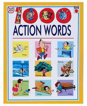 Apple Books Hardbound 1000 Action Words - English