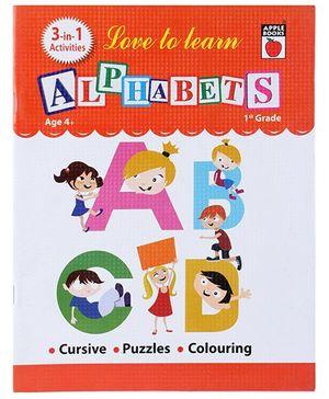 Apple Books Alphabets Book - English