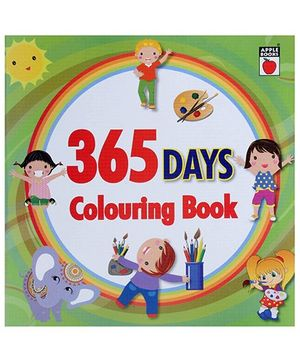 Apple Books - 365 Days Coloring Book