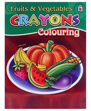 Apple Books - Crayon Coloring Fruits and Vegetables