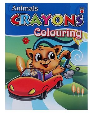 Apple Books - Crayon Coloring Animals
