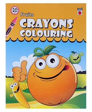 Apple Books - Crayon Coloring Fruits
