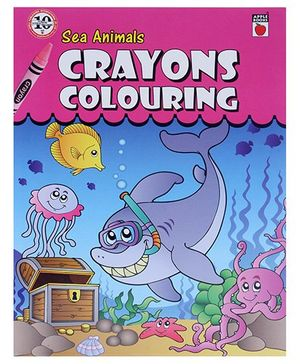 Apple Books - Crayon Coloring Sea Animals