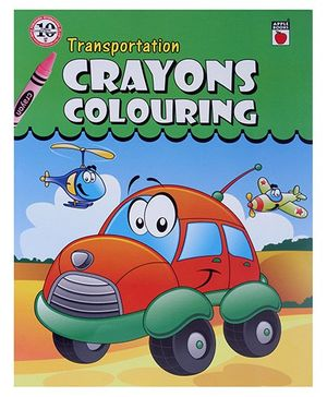 Apple Books - Crayon Coloring Transportation