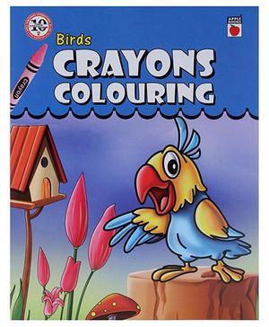 Apple Books -  Birds Crayon Coloring