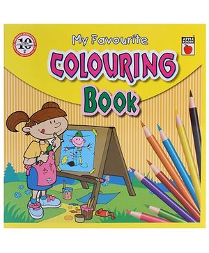 Apple Books - My Favorite Coloring Book 4T Yellow