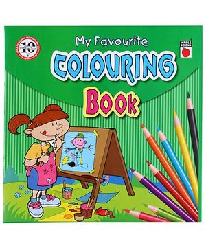 Apple Books - My Favorite Coloring Book 4T Green