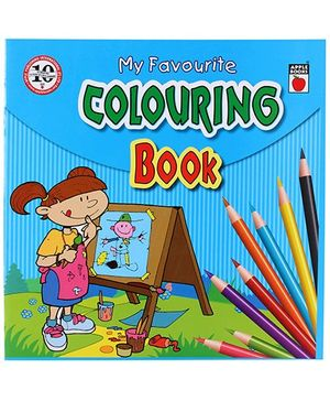 Apple Books - My Favorite Coloring Book 4T Blue