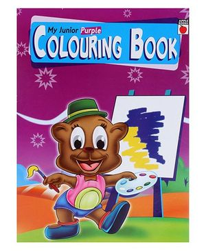 Apple Books - My Junior Coloring Purple
