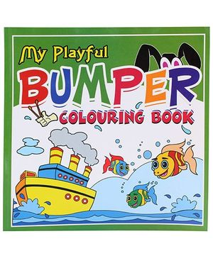Apple Books - My Playful Bumper Coloring Book Green