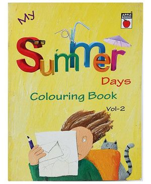 Apple Books - My Summer Day Coloring Book Volume 2