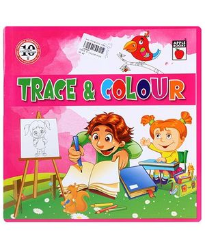 Apple Books  - Trace and Colour Book