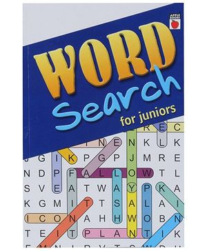 Apple Books Word Search For Juniors Book - English