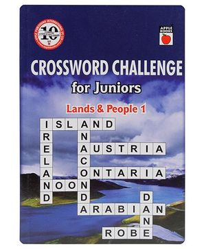 Apple Books - Crossword Challenge For Juniors Land And People Book 1