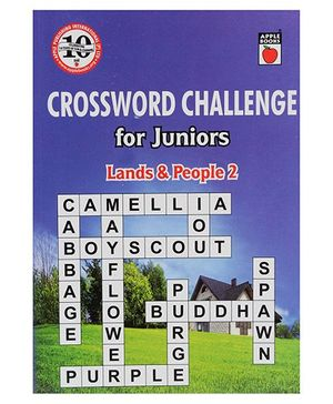 Apple Books - Crossword Challenge For Juniors Land And People Book 2