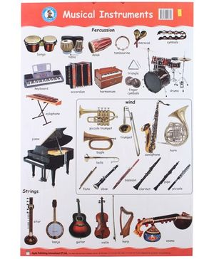 Apple Books - Musical Instruments Mini Chart