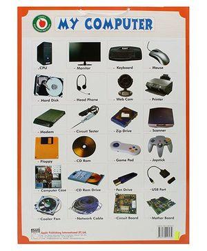 Apple Books My Computer Mini Chart - English