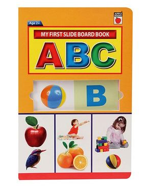 Apple Books My First Slide Board Book ABC - English