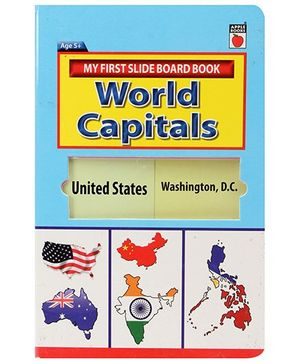 Apple Books - My First Slide Board Book World Capitals