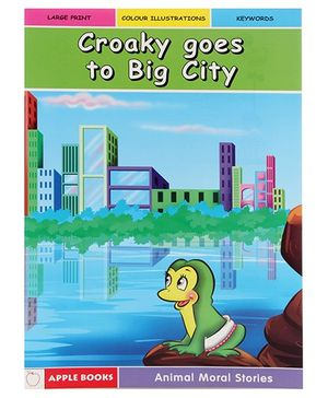 Apple Books - Croaky Goes to Big City Story Book