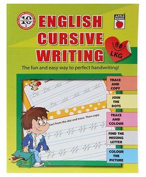 Apple Books English Cursive Writing Level A - English