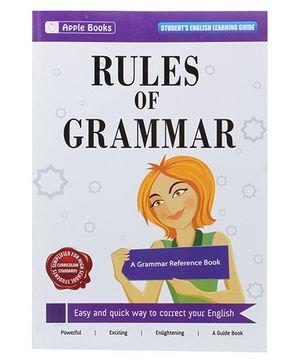 Apple Books - Rules Of Grammar Book - English