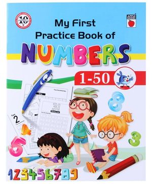 Apple Books My First Practice Book Numbers 1 to 50 - English