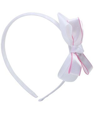 Stol'n - Bow Hair band White