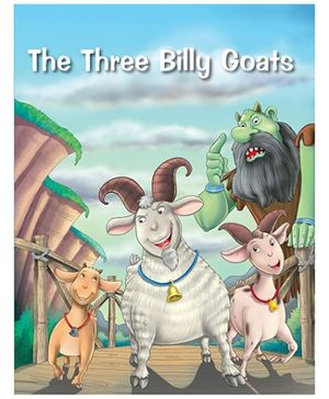 Pegasus The Three Billy Goats Story Book - English