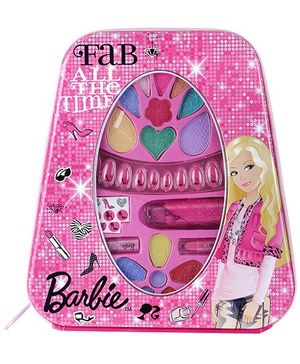 Barbie Metal Backpack Make Up Set