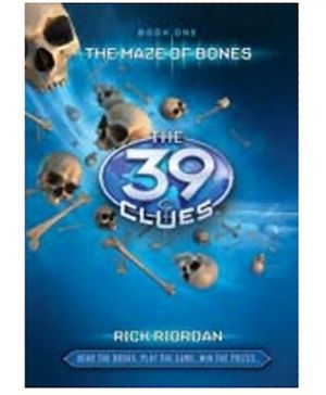 Scholastic - The 39 Clues The Maze Of Bones Book
