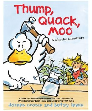 Simon And Schuster - Thump Quack Moo Book
