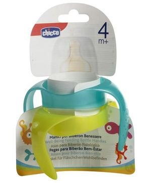 Chicco Well Being Feeding Bottle Handles - Set of 2