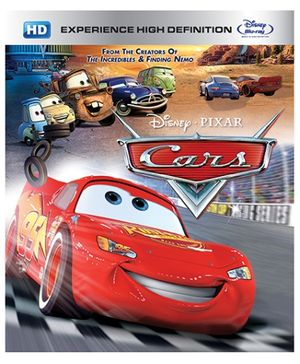 Disney Pixar Cars Blu-ray Disc