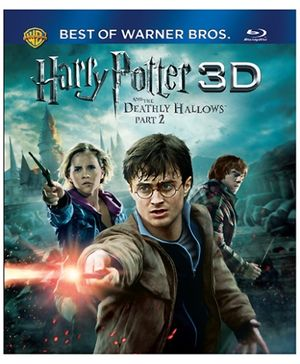 Harry Potter - Harry Potter And The Deathly Hallows Part 2 3D BD Blu Ray