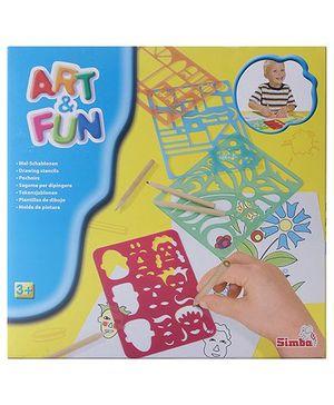 Simba Art And Fun - Stencil Set
