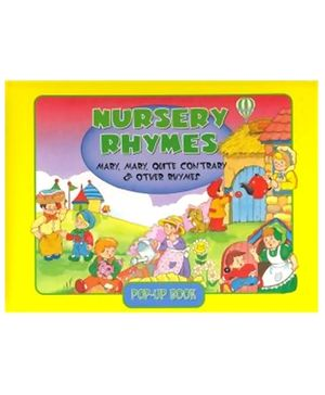 Jim Oldroyd - Nursery Rhymes Pop Up Book Yellow