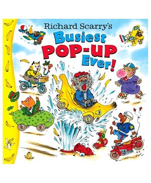 Random House - Richard Scarrys Busiest Pop Up Ever Story Book