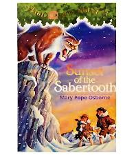 Random House - Sunset of the Sabertooth Story Book
