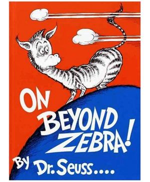 Random House -On Beyond Zebra Storybook